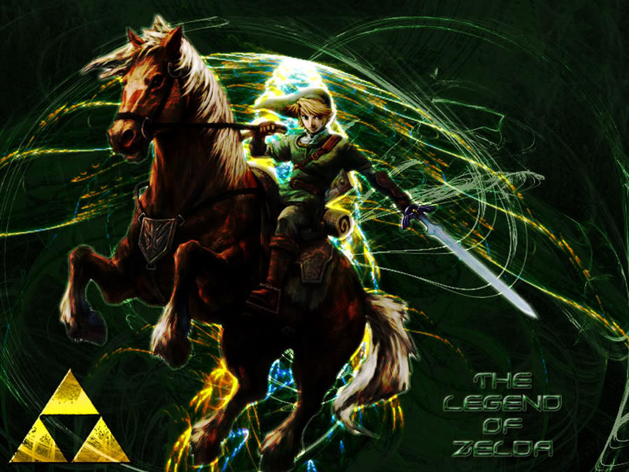 Link and Epona Wallpaper by Raizuto on DeviantArt