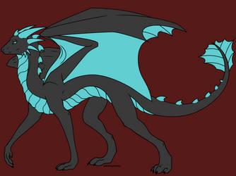 OC Rough Draft #1 by DragonikHelix