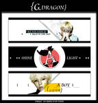 G-DRAGON BAN SET / WHALE.GO SIMPLE CONTEST by YUWEI2304
