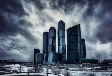 Moscow City by Tori-Tolkacheva