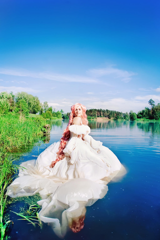 Like a flower by Tori-Tolkacheva