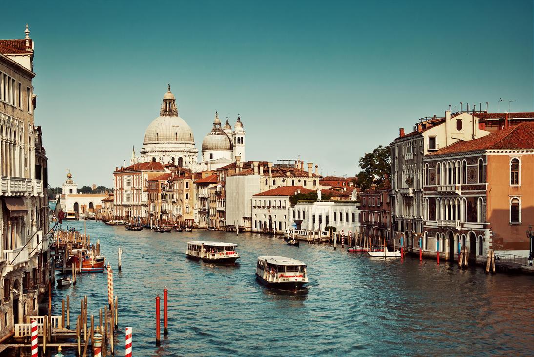 Canal Grande - Venice by Tori-Tolkacheva