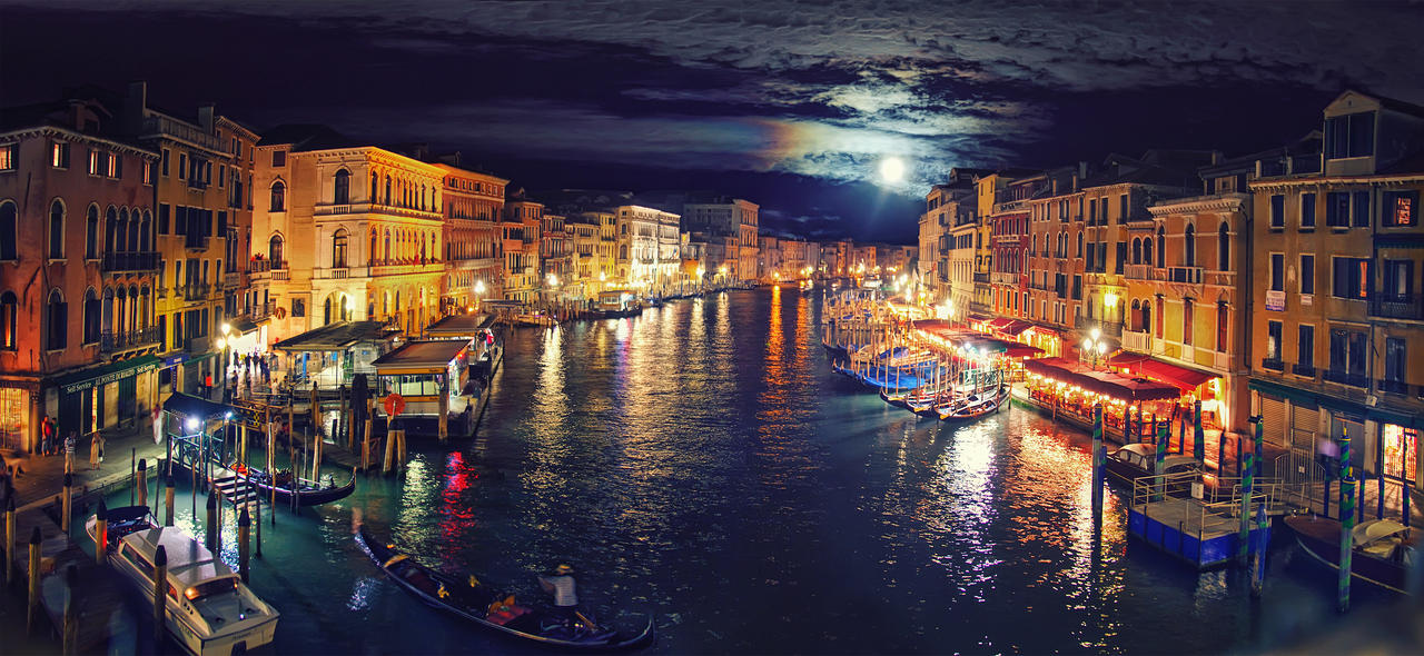 night Grand Canal by Tori-Tolkacheva