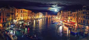 night Grand Canal