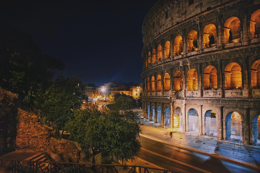 The majestic Rome by Tori-Tolkacheva