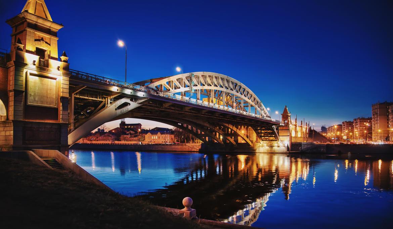 Moscow bridge - 1 by Tori-Tolkacheva