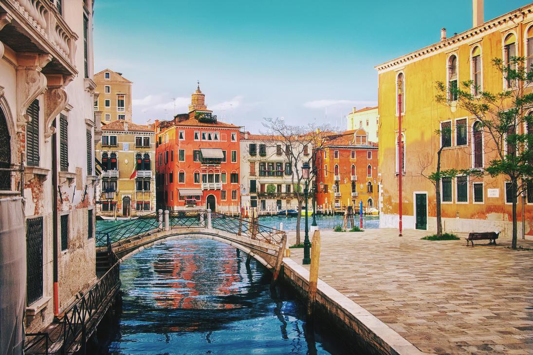 Colorful Venice by Tori-Tolkacheva