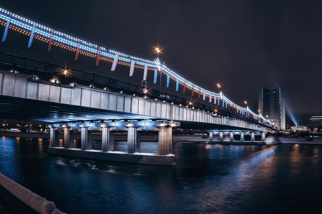 Walking on night Moscow -3 by Tori-Tolkacheva