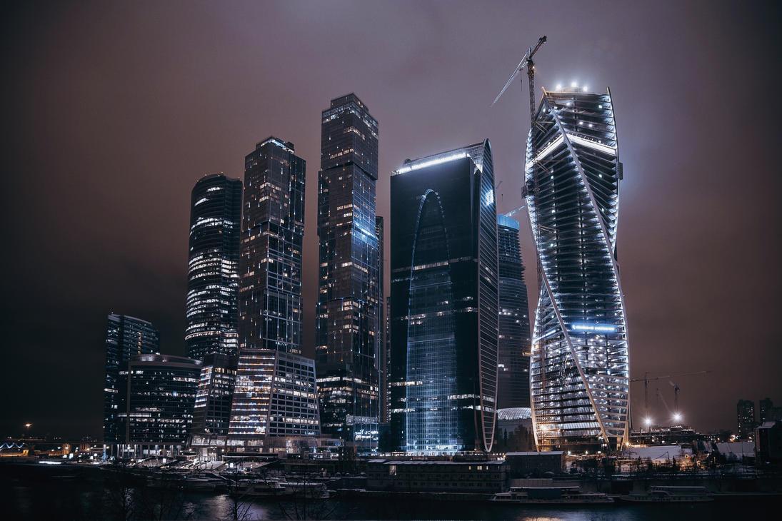 Moscow city 2 by Tori-Tolkacheva