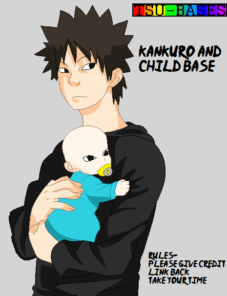 Kankuro and Child Base by Tsu-Bases on DeviantArt Gaara As A Wolf