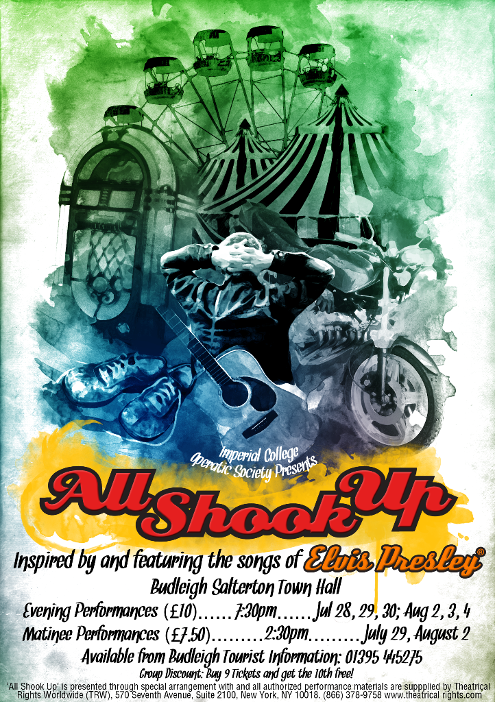 all shook up poster Title: all shook up artist: ines kouidis product type: canvas art size: 14 x 19 made in the usa ines kouidis studied painting and drawing at the free.