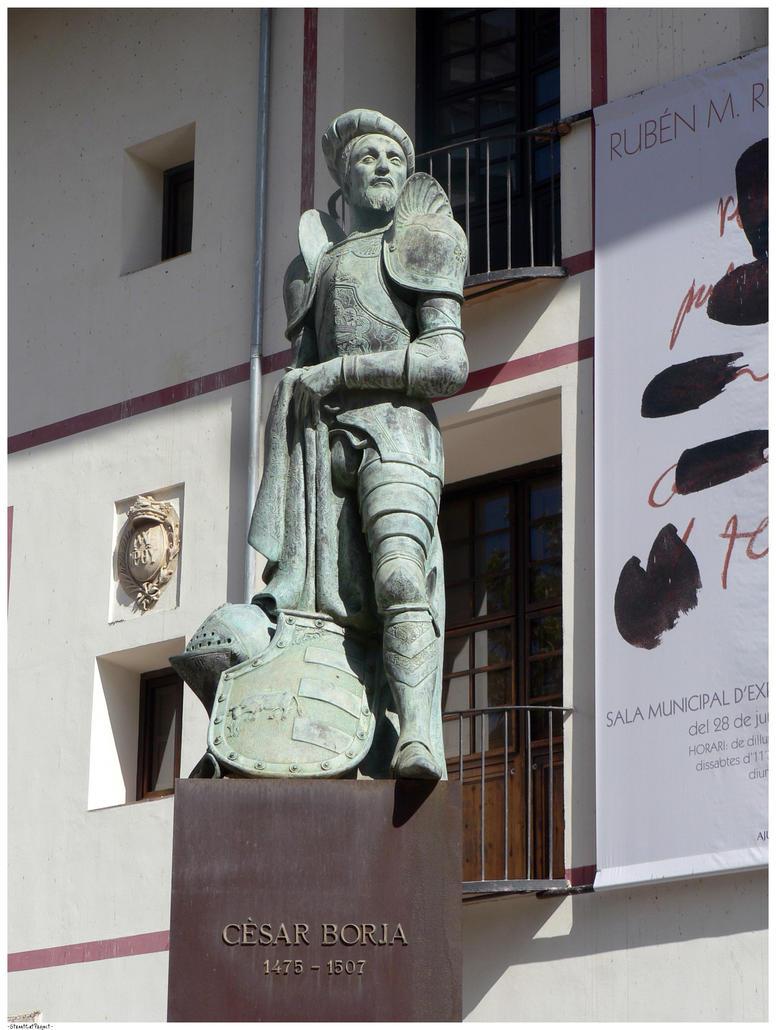 Cesare Borgia I by StreetCatProject