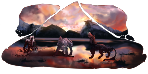 Howl for hunting by Sayer-Blood-Ink