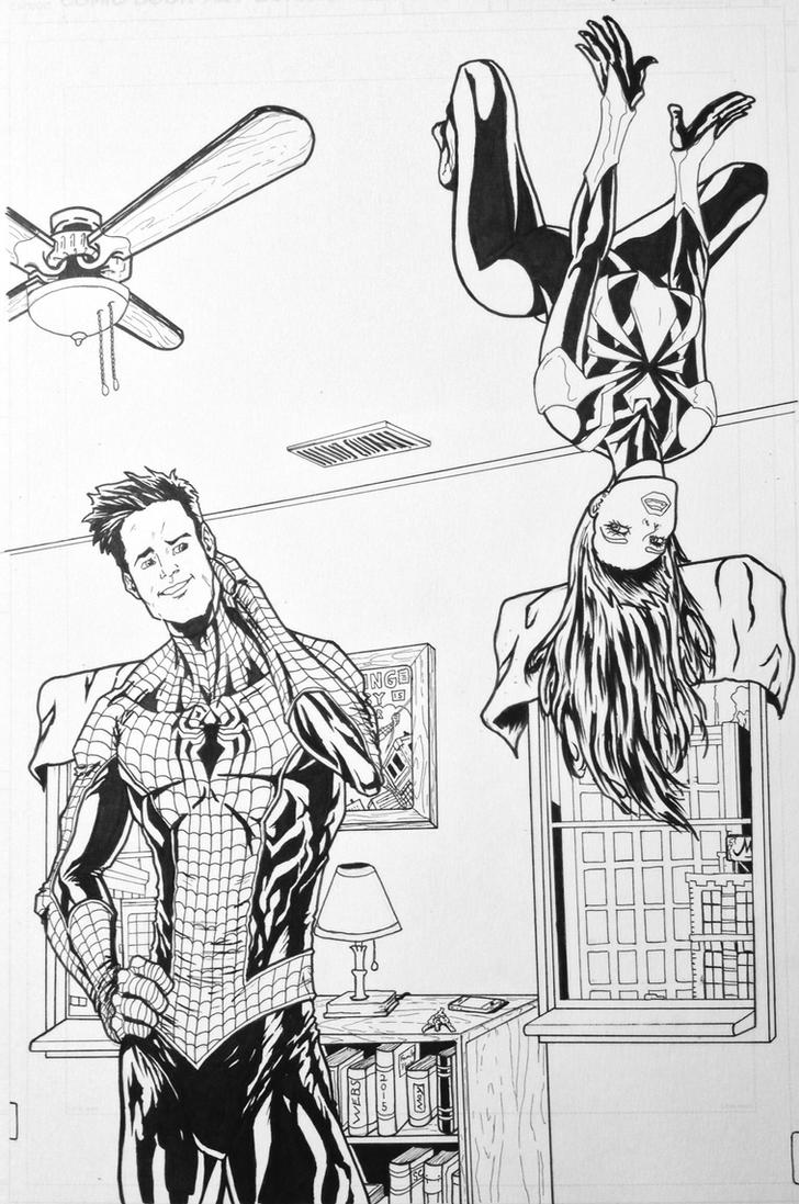 Pete and MJ by LeeChandler
