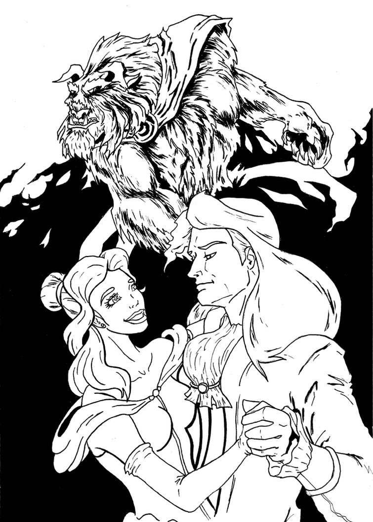 Beauty and the Beast by LeeChandler