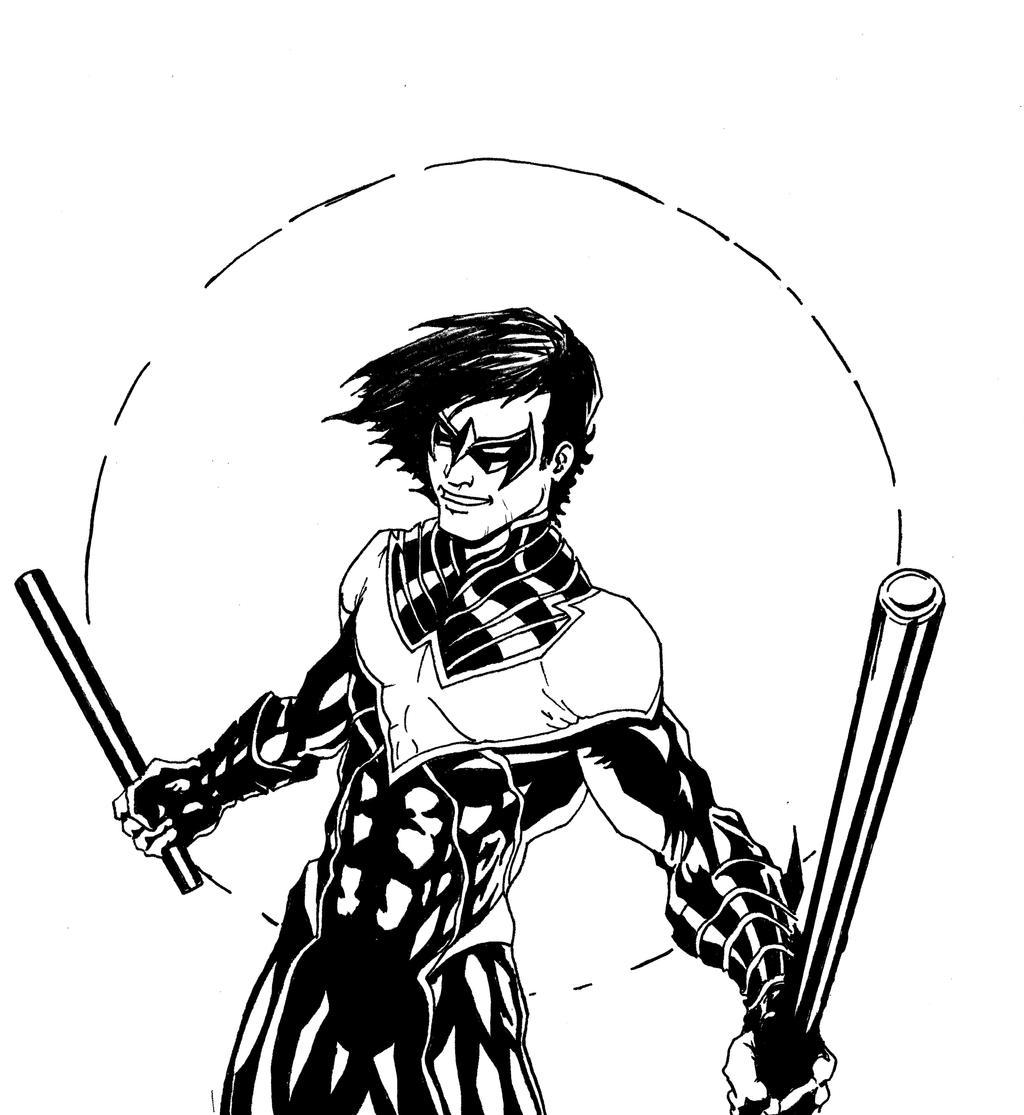 Nightwing by LeeChandler