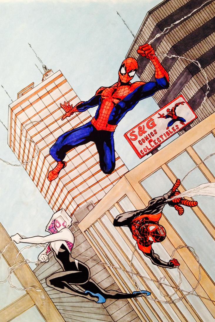 Spiders by LeeChandler