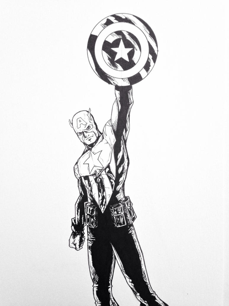 Captain America  by LeeChandler