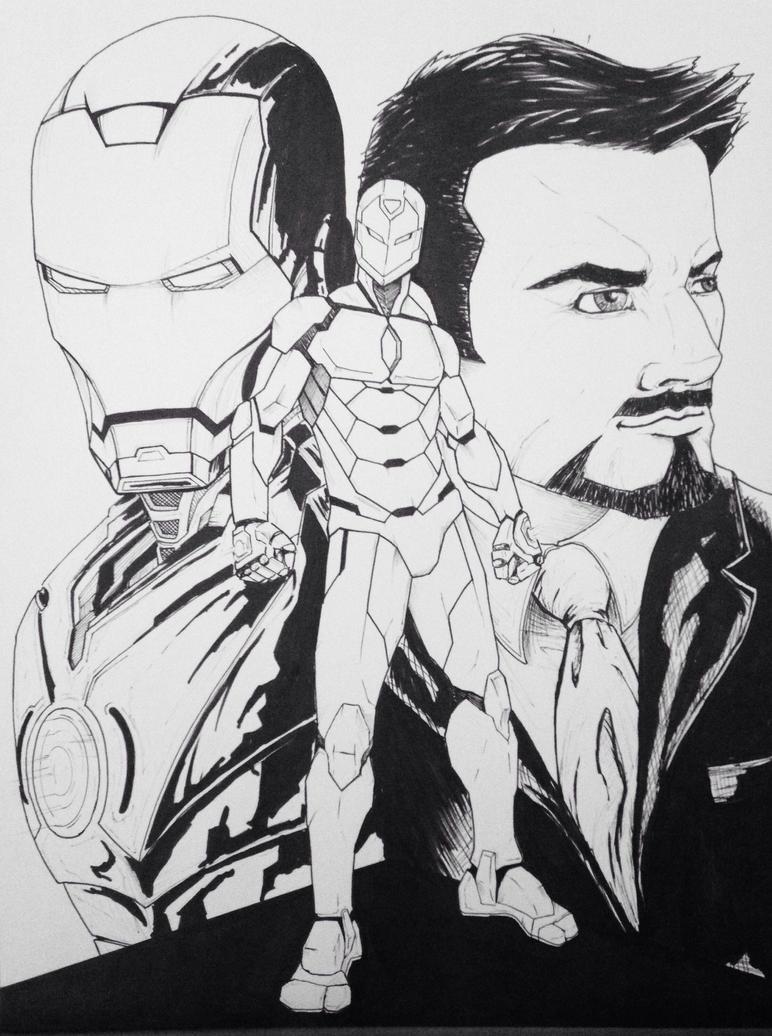 I am Iron Man by LeeChandler