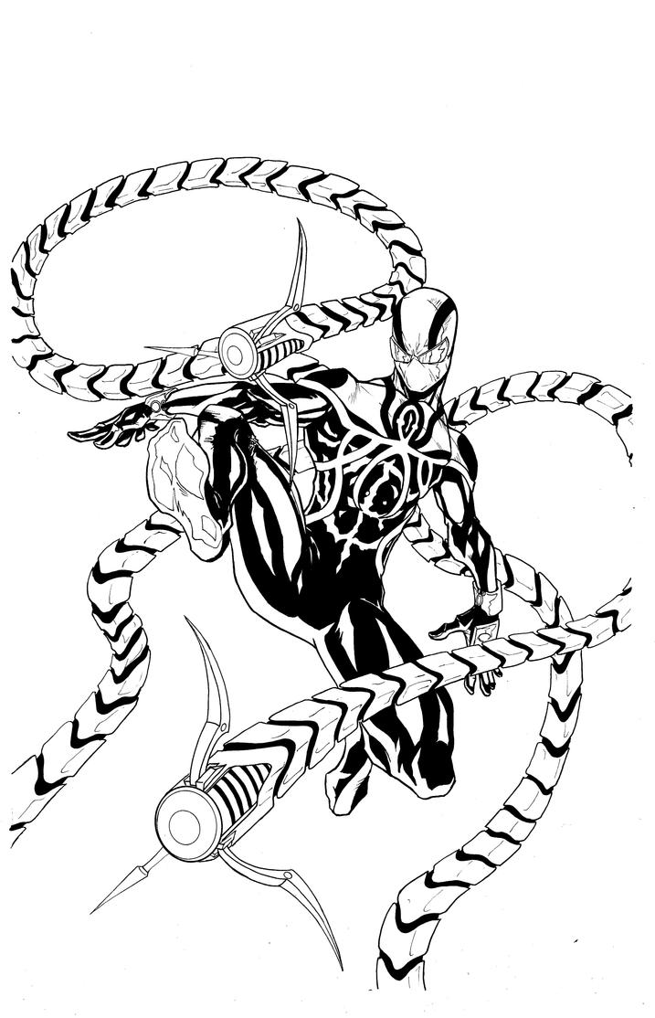 Superior Dr. Octopus ink by LeeChandler