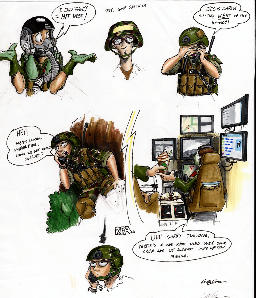 Air Force Shenanigans by Mattings