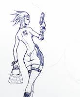The bitch by DanielRGB