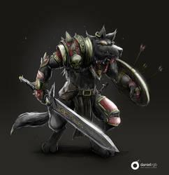 Medieval Warrior by DanielRGB