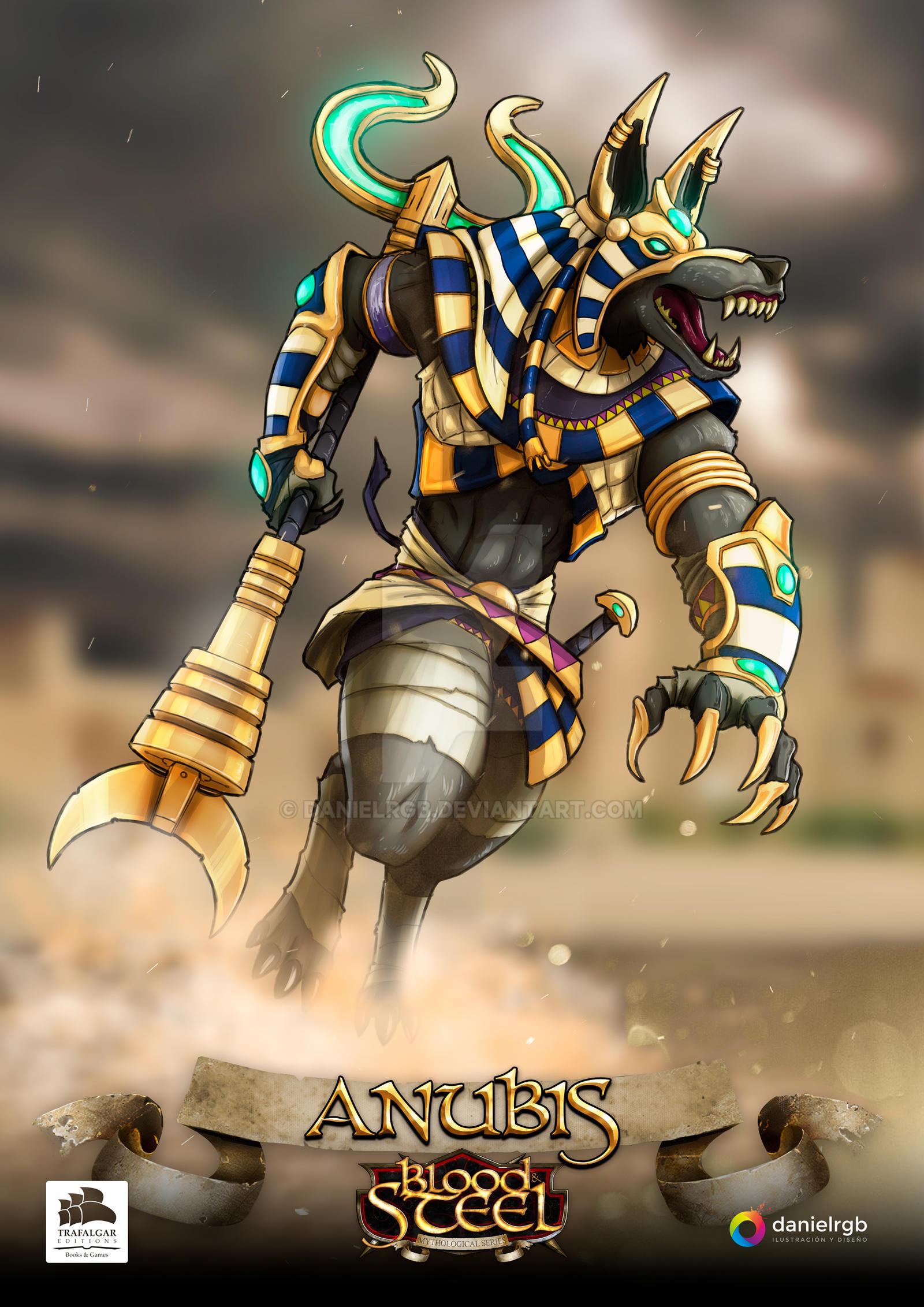 Anubis-BloodSteel-DanielRGB-Juego-Mesa-Board-Game by DanielRGB