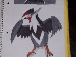 Staraptor by DevilGator17
