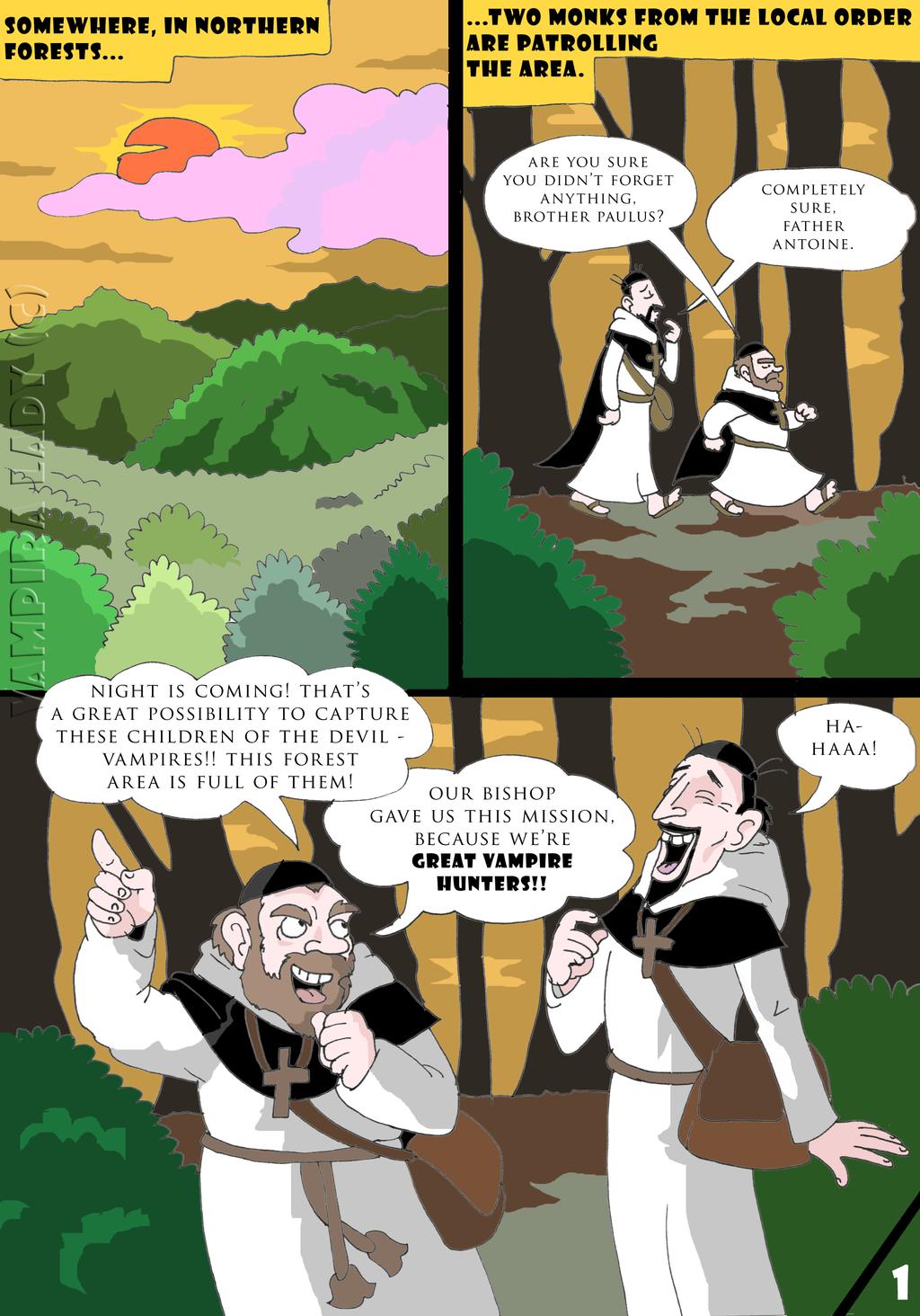 The meeting of vampires Part 2 Pg 1 by VampiraLady