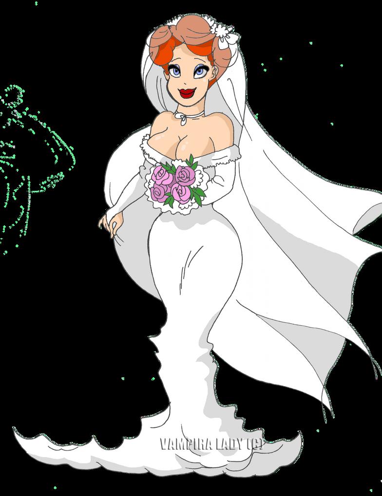 Wedding dress by VampiraLady