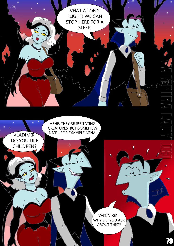 The meeting of vampires' pg 79 by VampiraLady