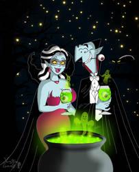 The cauldron of horror by VampiraLady