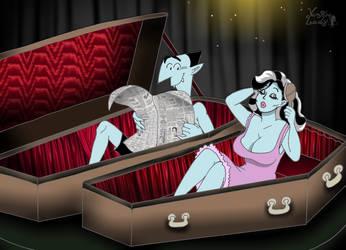 Coffin chamber by VampiraLady