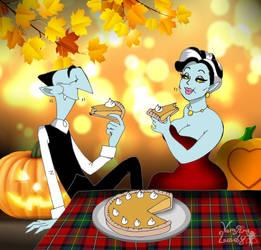 Pumpkin pie by VampiraLady