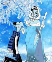 Mrs. Winter by VampiraLady