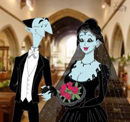Black bride by VampiraLady