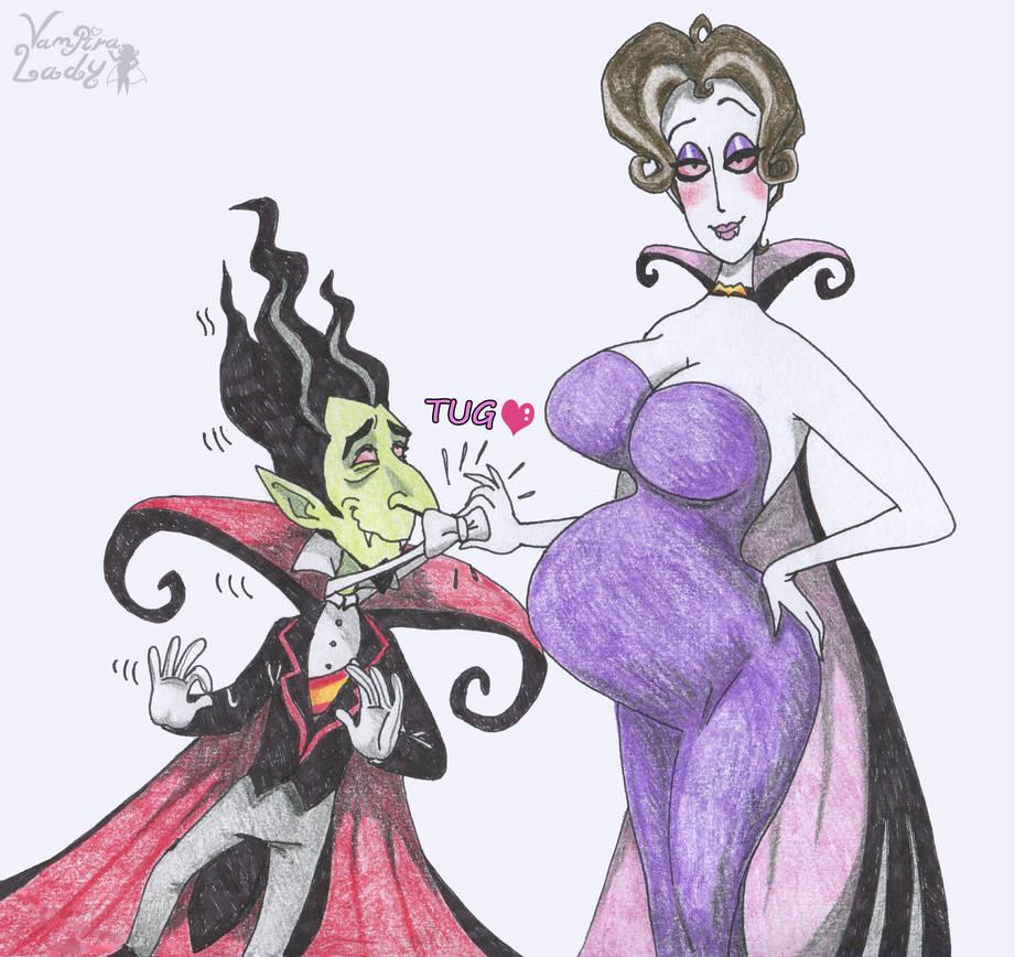 Pregnant Mona by VampiraLady on DeviantArt