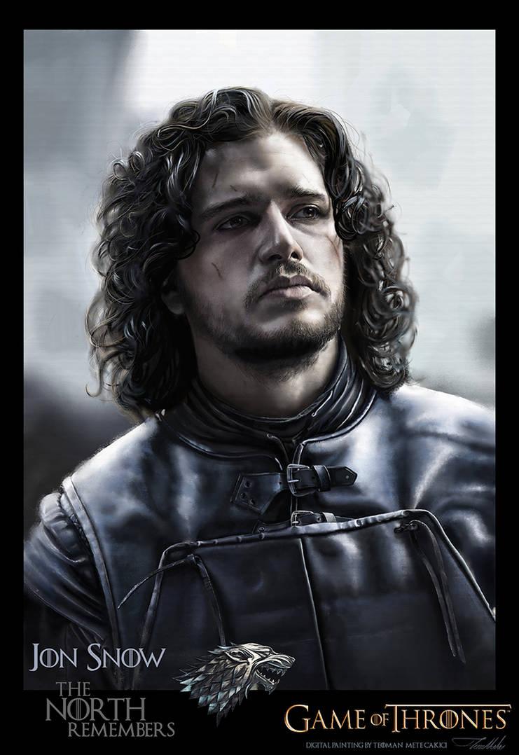 Jon SNOW by teomanmete