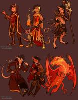 Tibalt: Outfit Mashups