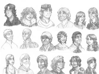 A Storm of Swords Sketch Sheet