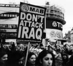 Dont attack Iraq by elward-photography