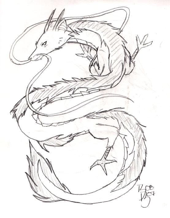 Haku From Spirited Away By Sakura004 On Deviantart Spirited Away Coloring Pages