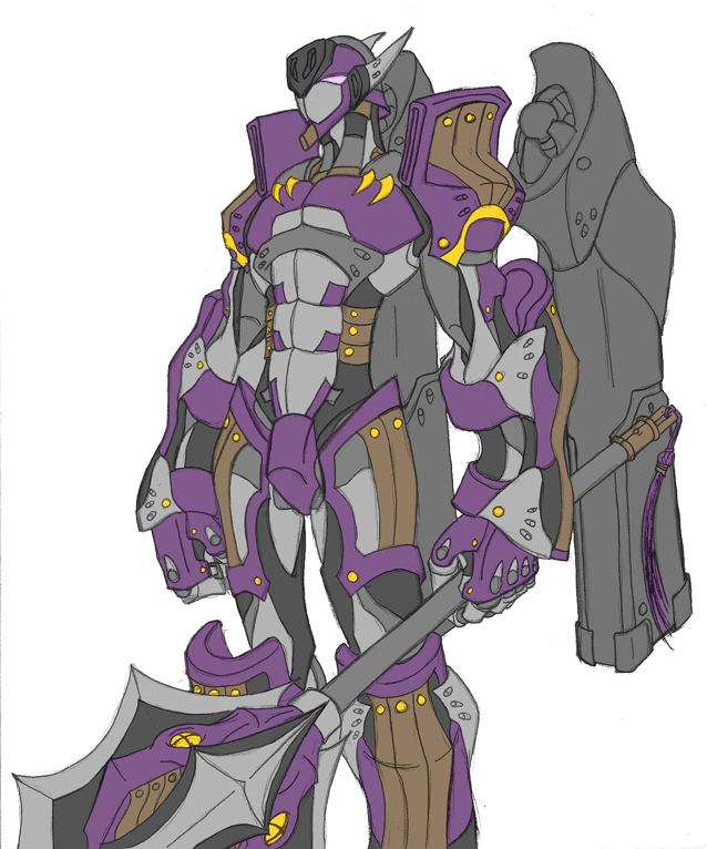Cyborg Series -Mace- by Tyshea