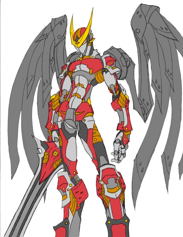 Cyborg Series -Sword- by Tyshea
