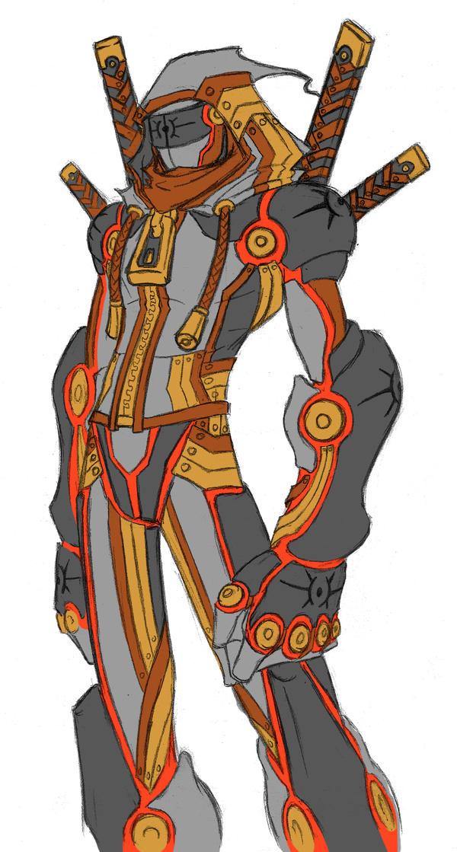 Cyborg Hoodie Ninja XD by Tyshea