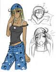 -Side Character- Sandgirl