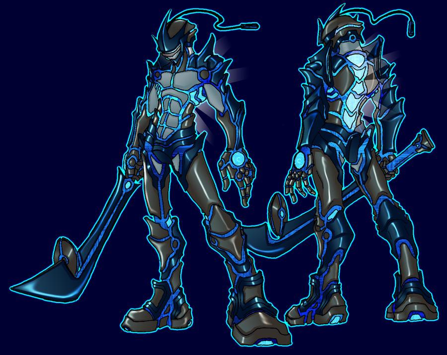 TrueHeartKnight's RP Character Storage Cyber_Hero_by_Tyshea