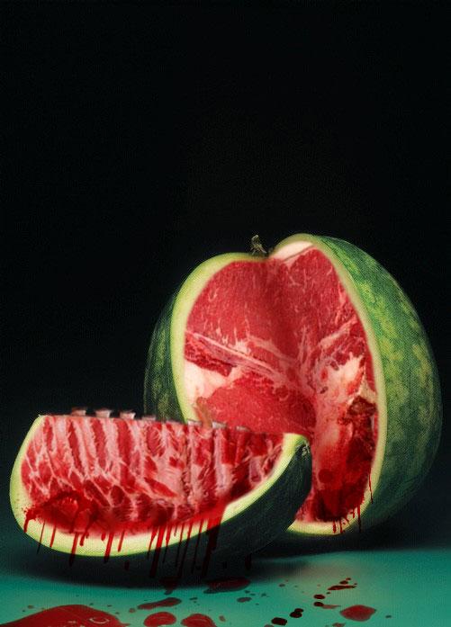 Watermelon Meat by Tyshea