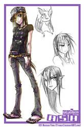:SD: Ash by Dyemelikeasunset